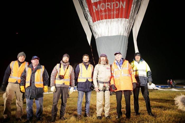 Федор Конюхов и его воздушный шар полностью готовы к кругосветному перелету