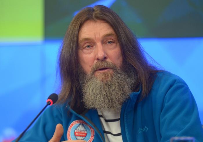 Федор Конюхов начал полет вокруг света на воздушном шаре
